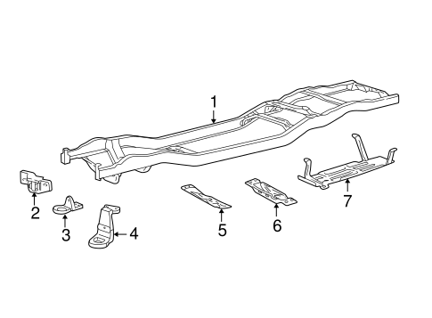 Body/Frame & Components for 2005 Ford Ranger #1