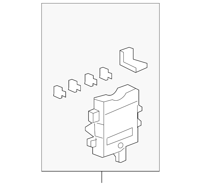 box assembly  passenger fuse