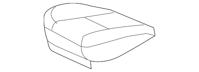 genuine gm cover seat cush cashmere 22751126