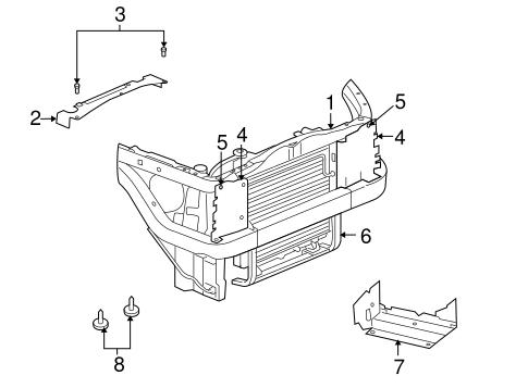 Radiator Support For 2007 Mitsubishi Raider Durocross Auto Parts