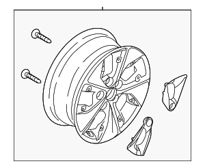 Wheel - Hyundai (52905-G7210)