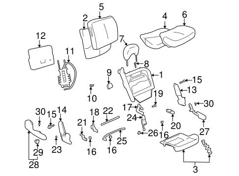 Oem 2005 Buick Lesabre Power Seats Parts