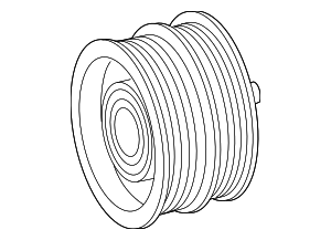 Pulley - Mercedes-Benz (000-202-04-19)