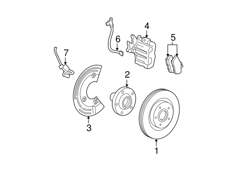 Brakes/Rear Brakes for 2007 Ford Five Hundred #2
