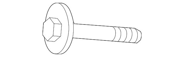 Genuine Mercedes-Benz Suspension Control Arm Nut 913023-010002