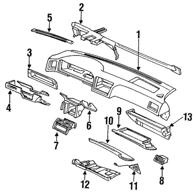 1991 1993 Acura Beam Steering Hanger 61160 Sp0 A01zz