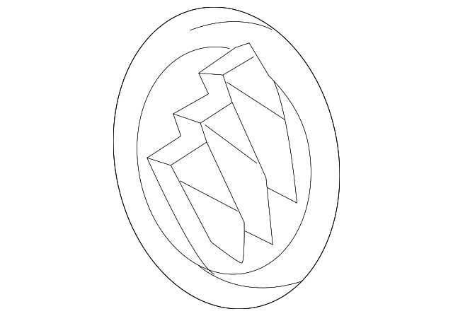 2013 2017 buick enclave emblem 22828173 courtesychevroletparts 2014 Buick Verano White emblem gm 22828173