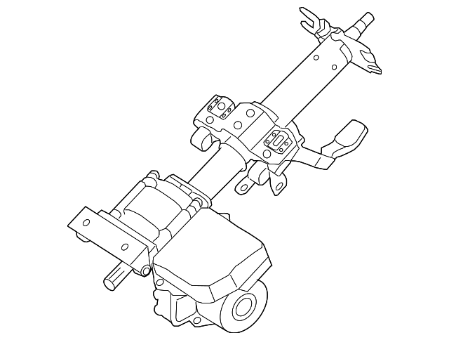 Genuine Hyundai 56310-2H350 Steering Column and Shaft Assembly