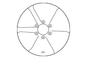 Wheel, Alloy - Toyota (42611-04180)