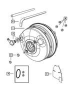 Power Brake Booster - Mopar (4721802AC)
