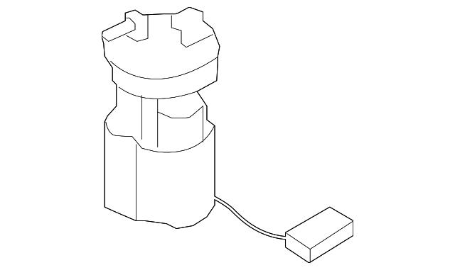 genuine nissan fuel pump 17040