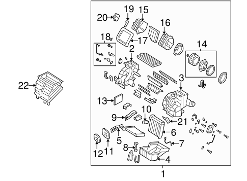 blower motor fan for 2007 mazda 3 quirk parts