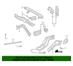 Rail Assembly Retainer Plate