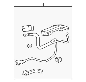 Cable Assembly, Starter - Honda (32410-TP6-A00)