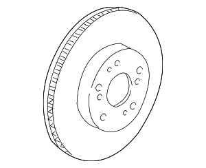 Disk, Rear Brake - Honda (42510-SMC-N02)