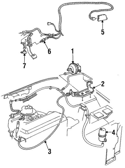 Oem 1993 Chevrolet Beretta Cruise Control Parts