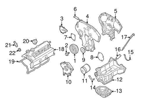 Emission System for 2004 Nissan Murano #0