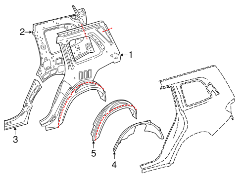 Inner Structure For 2015 Mercedes Benz Gl 450
