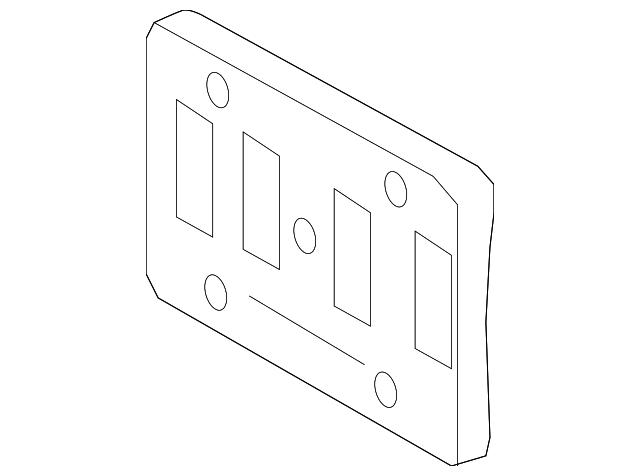 license panel