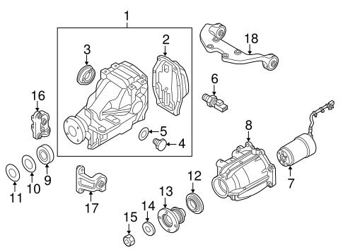 Axle Differential For 2011 Mazda Cx 7 Realmazdaparts Com