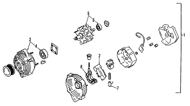 Alternator  Toyota Alternator Wiring on toyota alternator plug, toyota fuel pump, toyota alternator connectors, toyota alternator replacement, toyota 4runner engine schematic, toyota forum, toyota corolla aftermarket accessories, toyota battery, toyota headlights, toyota ignition switch, toyota remote start, toyota brakes, toyota alternator problems, toyota alternator pulley, toyota alternator bracket, toyota tundra alternator, toyota starter, toyota fuse box diagram, toyota exhaust,