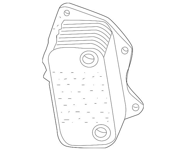 2005 2014 Volkswagen Oil Cooler 07k 117 021 C