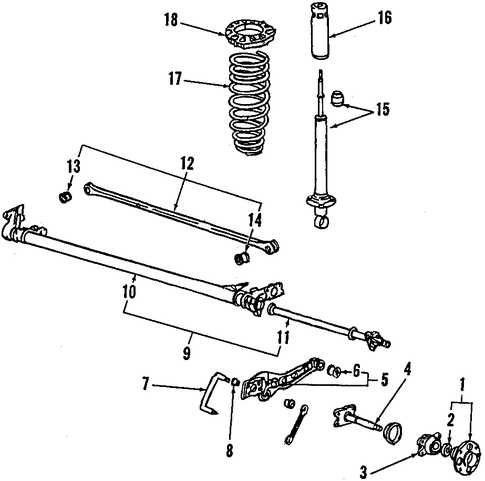 Trailing Arm Rear