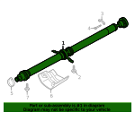 Drive Shaft - Porsche (95B-521-101-AA)