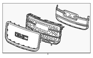 Grille Assembly - GM (22814533)