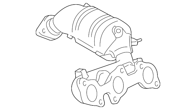 Genuine Toyota Exhaust Manifold 17140 20030