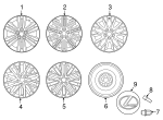 Wheel, Alloy - Lexus (42611-33B01)