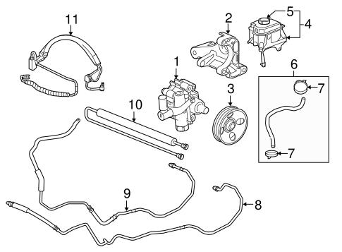 [DIAGRAM_3ER]  Pump & Hoses for 2011 Buick LaCrosse | GMPartsDirect.com | Buick Lacrosse Engine Diagram Power Steering Pump |  | GM Parts Direct