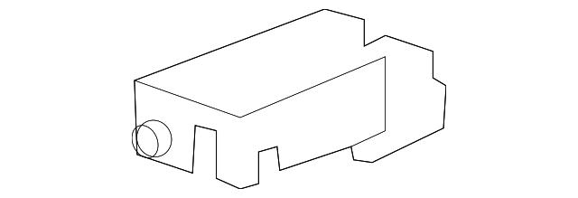 GM OEM Battery-Box Cover 22945779