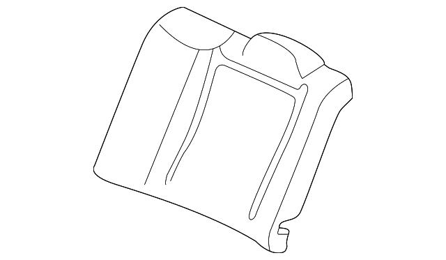 Honda Genuine 81144-S0A-J01ZG Headrest Lock Guide
