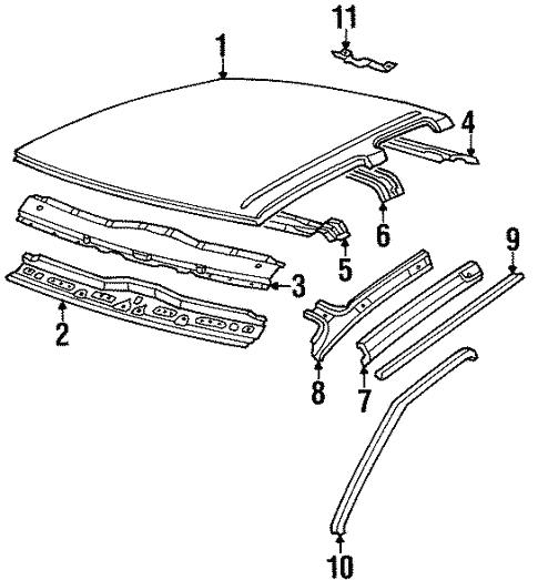 1997 Nissan Pickup Parts Diagram