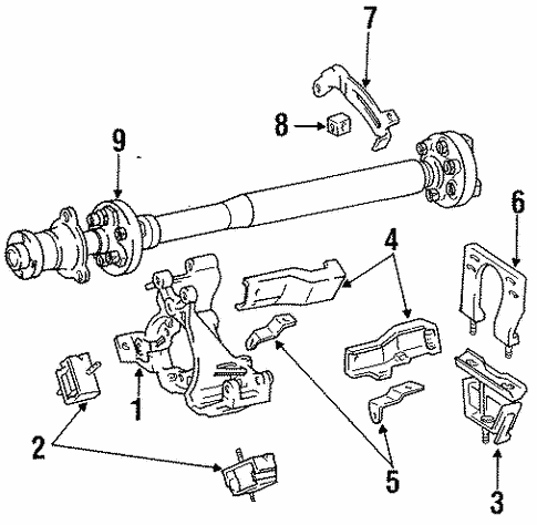 Genuine Oem Engine Parts Parts For 1991 Toyota Previa Dx