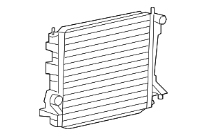 Radiator - Ford (AR3Z-8005-A)