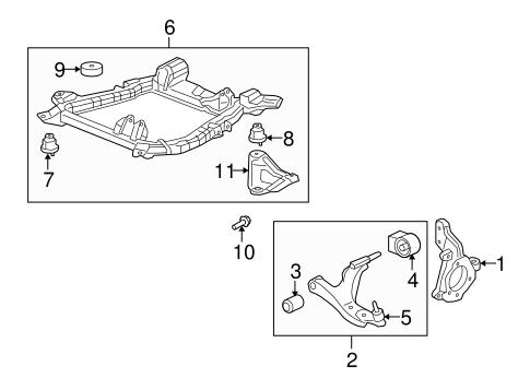 oem suspension components for 2009 saturn vue. Black Bedroom Furniture Sets. Home Design Ideas