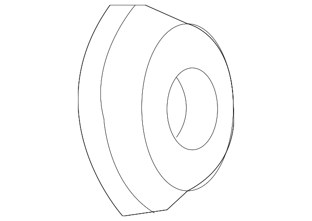 CHRYSLER OEM Front Door-Lock Cylinder Cap 5102456AA
