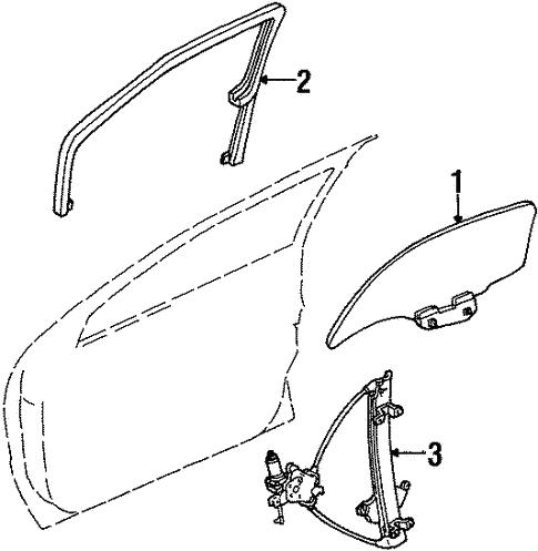 2001 Mercury Villager Intake Manifold