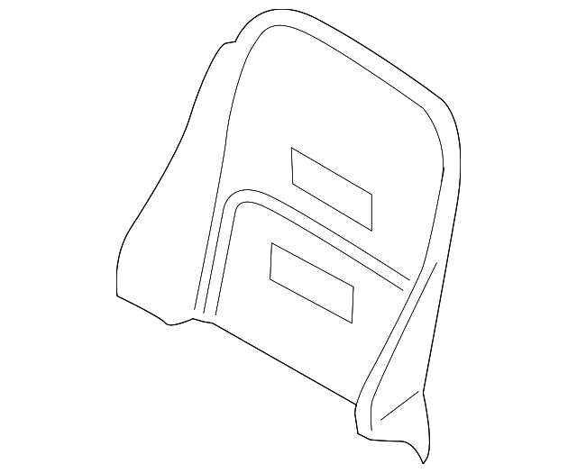 Front Right Genuine Hyundai 88260-4J411-CS6 Cushion Cover Assembly