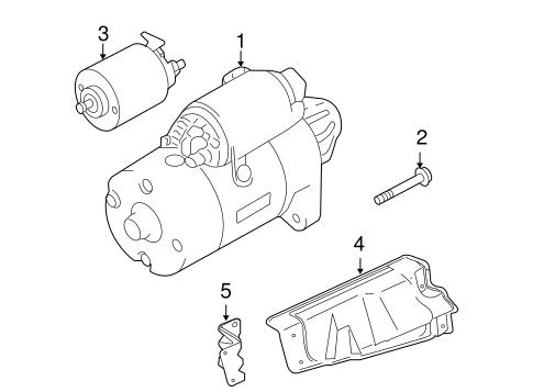 Mitsubishi Eclipse Starter Auto Parts Diagrams