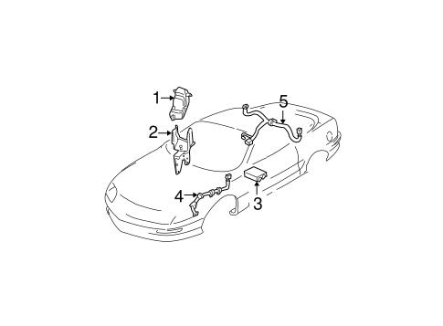 Anti Lock Brakes For 1999 Chevrolet Camaro