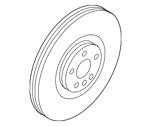 Rotor - FRONT - Volvo (31471752)