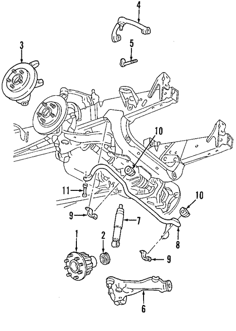 Front Suspension/Suspension Components for 2008 Ford F-150 #2
