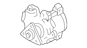 Power Steering Pump - Ford (F77Z-3A674-EBRM)