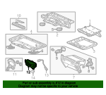 Jack Assembly, Rear Entertainment System (AC)