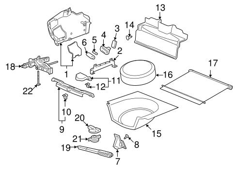 Interior Trim Rear Body For 2007 Pontiac G6 Gmpartshouse