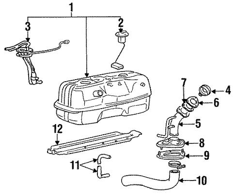 1989 Dodge Ram 50 Fuel System Diagram