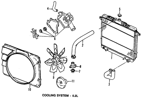 cooling system for 1999 dodge dakota parts | wermopar ... 1999 dodge dakota radio wiring diagram 1999 dodge dakota sport engine diagram